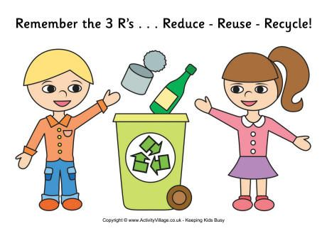 image freeuse library Poster kid s recycling. Kids recycle clipart.