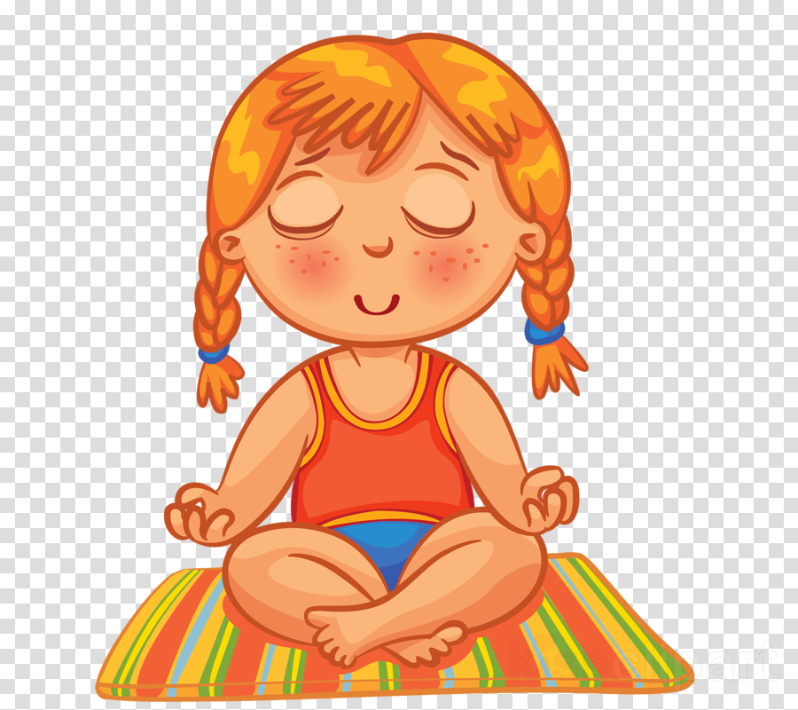 royalty free stock Child background relaxation illustration. Kids relax clipart.