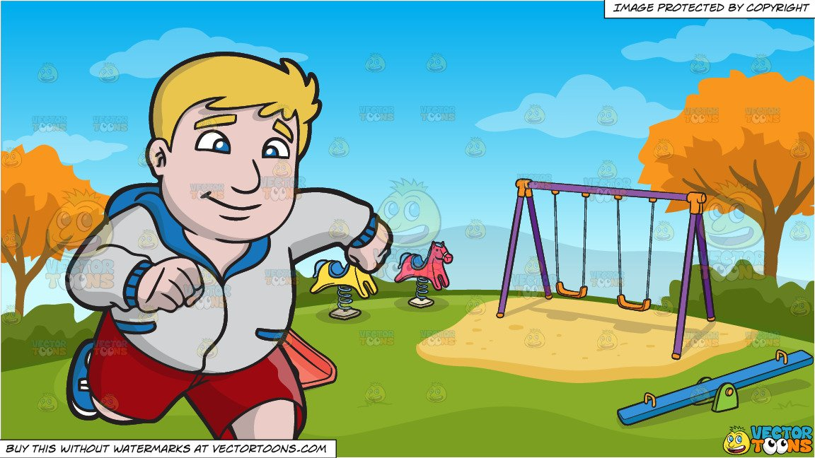 jpg transparent download A chubby man and. Kids running outside clipart