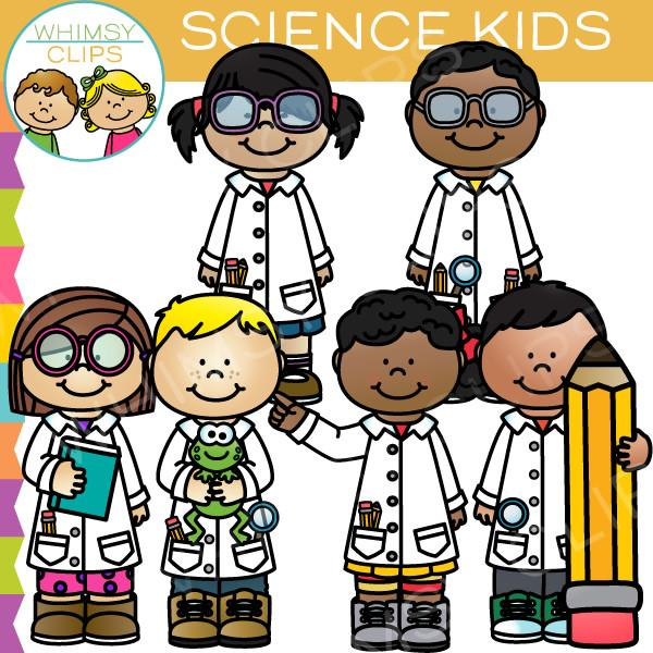 graphic black and white download Clip art . Kids science clipart