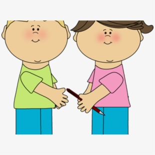 graphic freeuse Playing kind to your. Kids sharing clipart