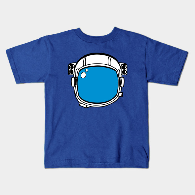 image freeuse library Kids shirt clipart. Blue astronaut helmet