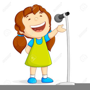 banner freeuse library Kids singing clipart. Free images at clker