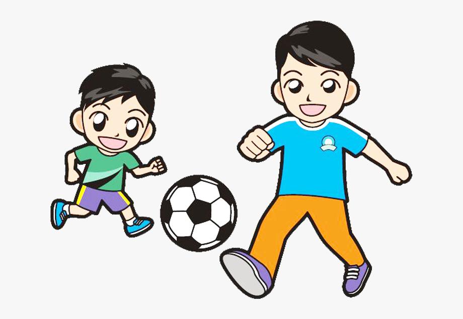 svg free stock Kids soccer clipart. Child clip art play