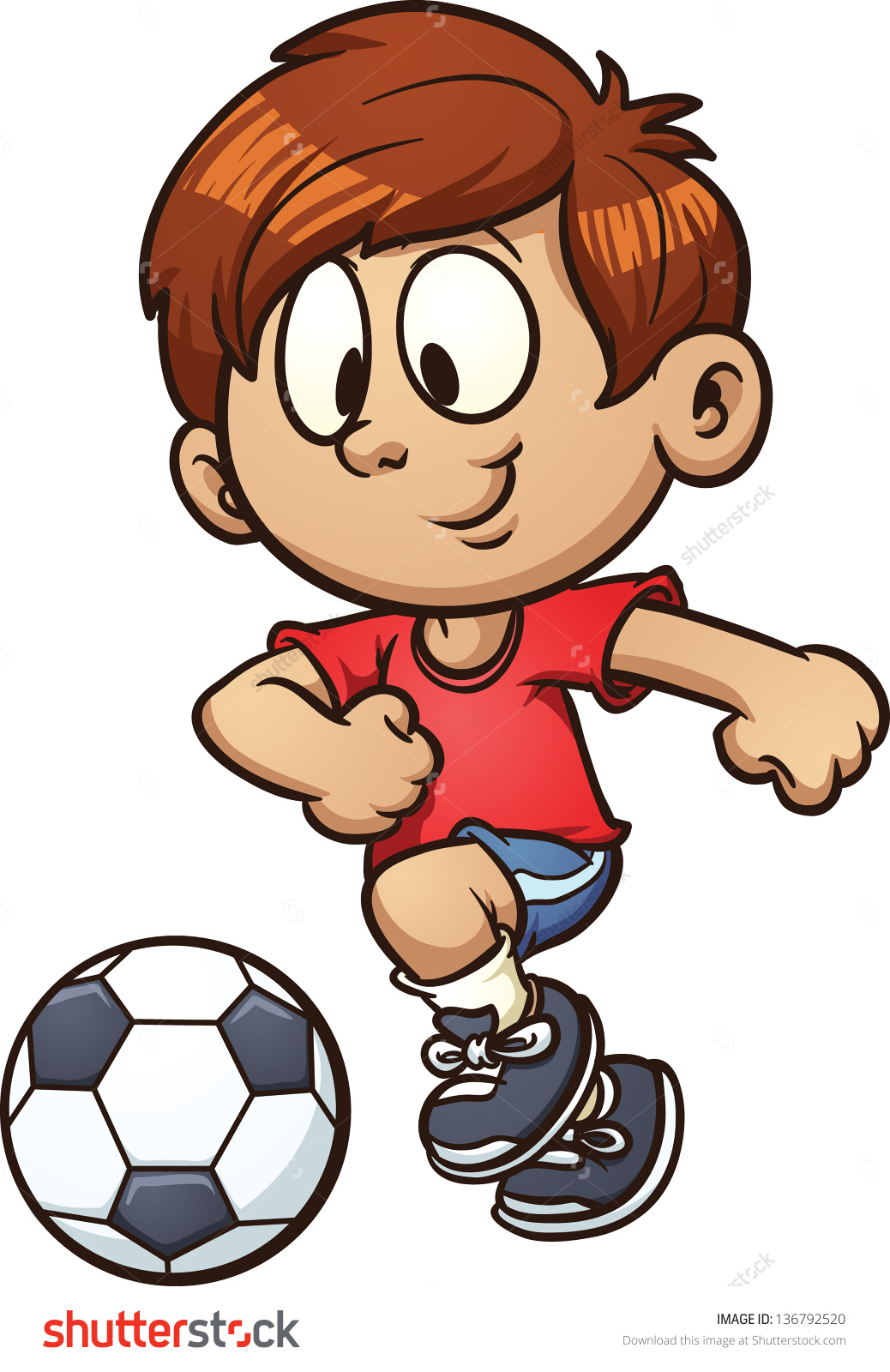 clipart royalty free stock Kids soccer clipart. Free boy cliparts download