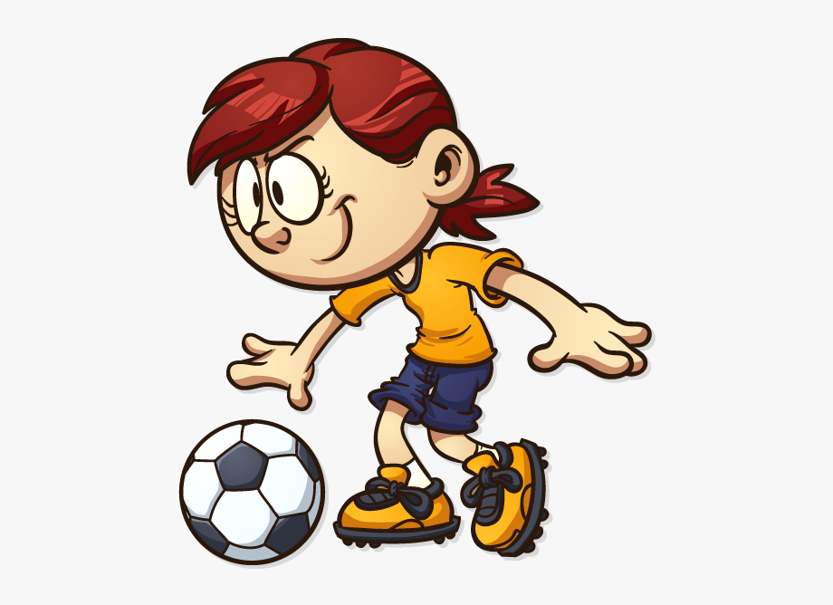 banner Playing . Kids soccer clipart