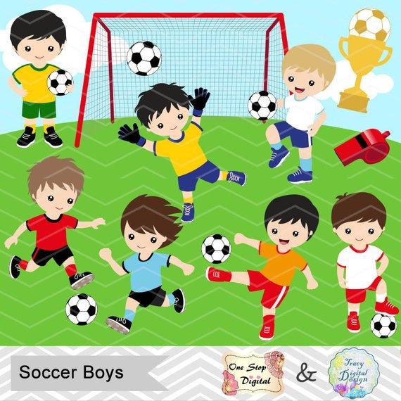 vector library library Digital boys boy clip. Kids soccer clipart