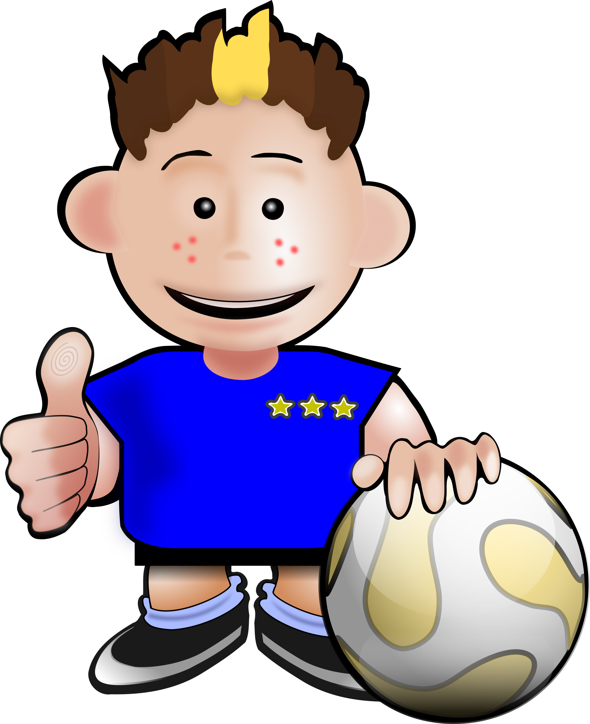 png free download Kids soccer clipart. Toon big image png