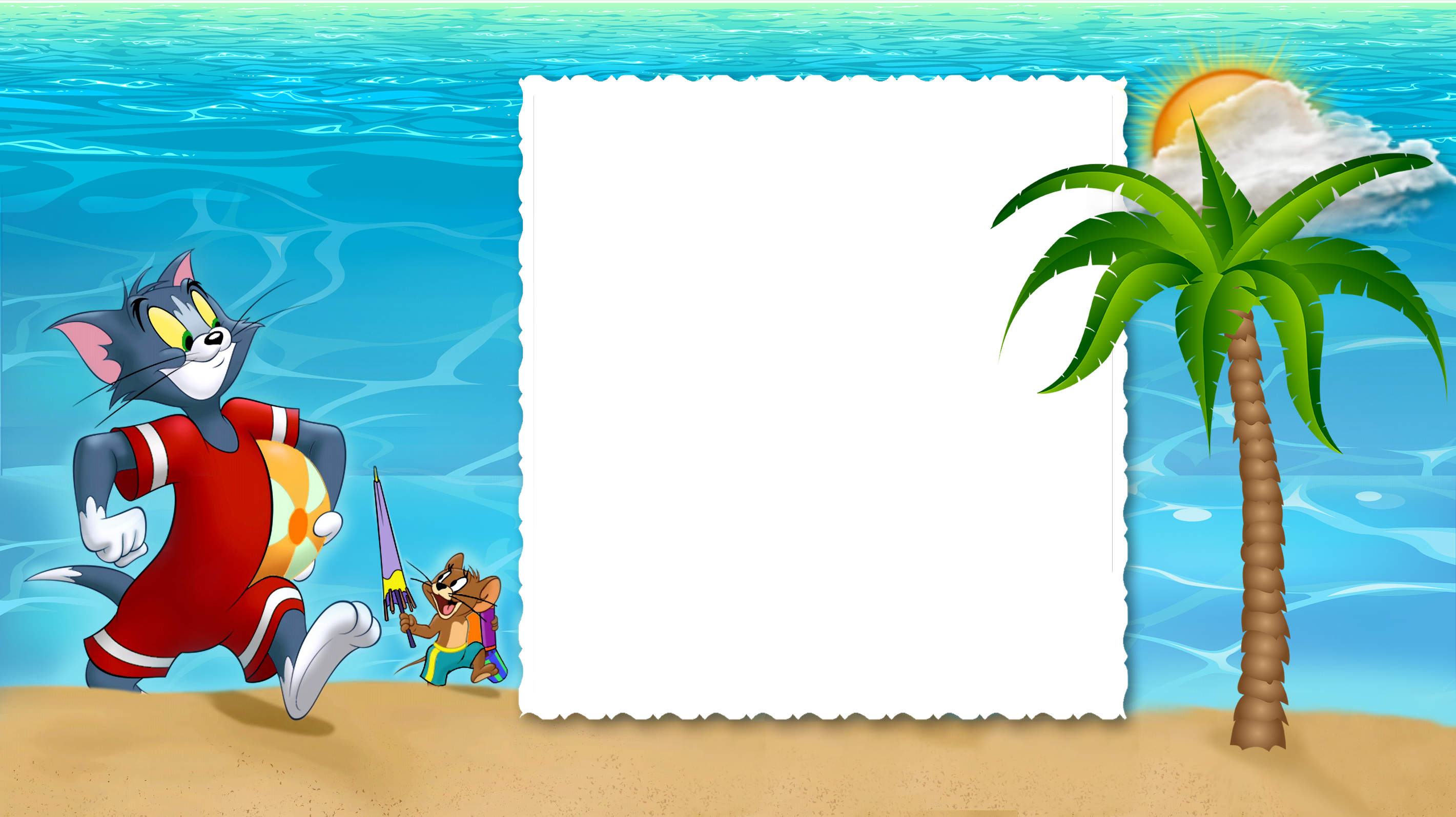 image library library Kids summer clipart. Tom and jerry png