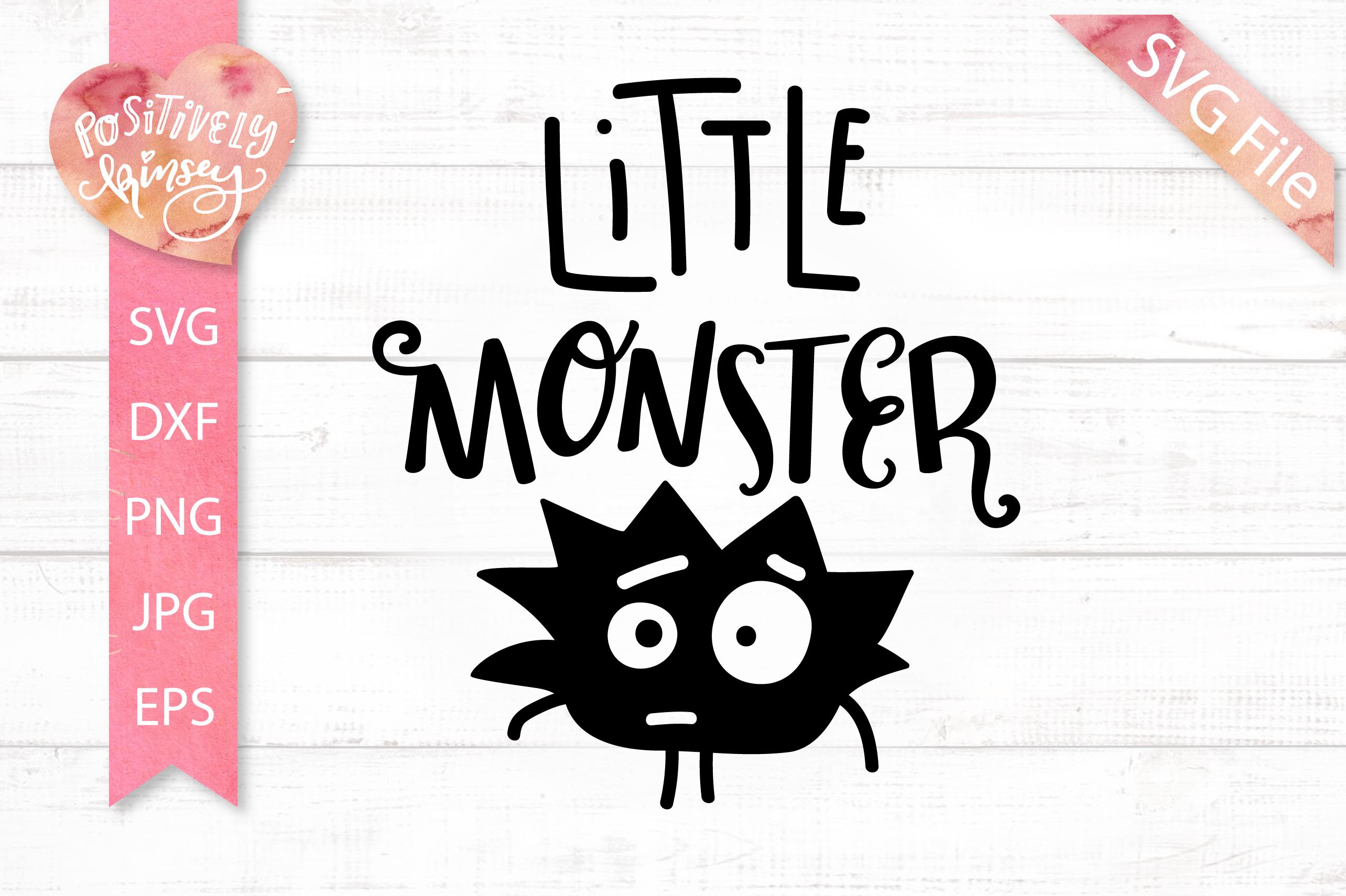 jpg library library Design little monster dxf. Kids svg.