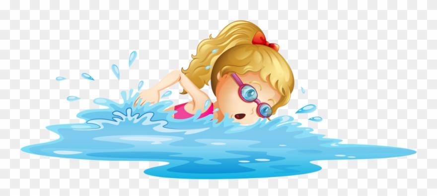 banner stock U f d a. Kids swim clipart