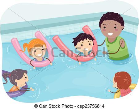 image transparent Kids swim clipart. Swimming station