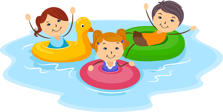 jpg freeuse download Kids swimming clipart. Free cliparts download clip