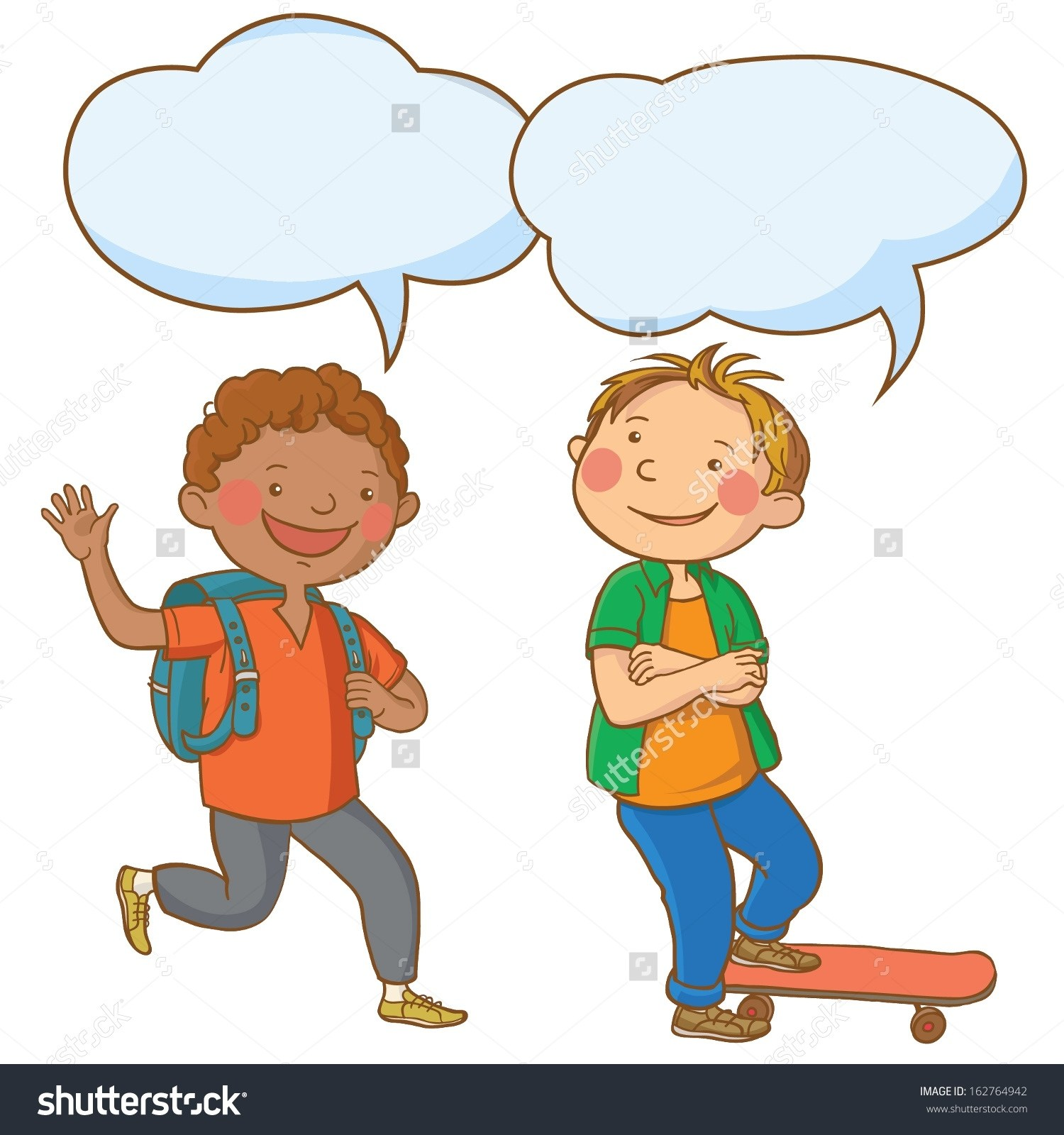 graphic transparent download Collection of free conversationed. Kids talking clipart