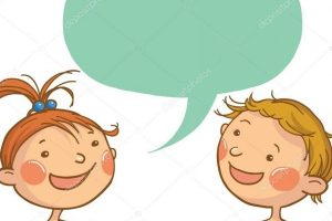 picture royalty free Kids talking to each other clipart. Station