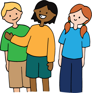 banner freeuse download Kids working in groups clipart. Kidbots description cs unplugged.