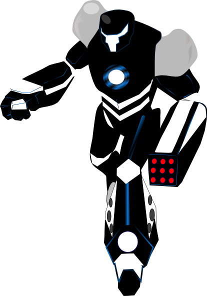 picture stock Robot clip art at. Killer clipart