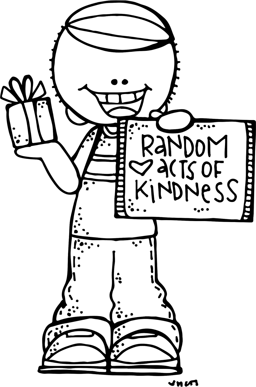 clip free download  collection of kindness. Sick clipart black and white