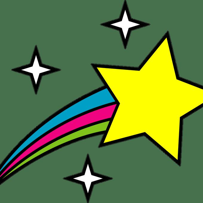 banner freeuse Clip art shelves stars. Kindergarten clipart.
