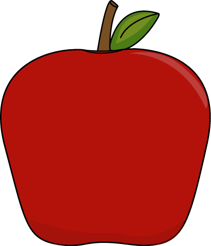freeuse library Big apple clip art. Picking apples clipart