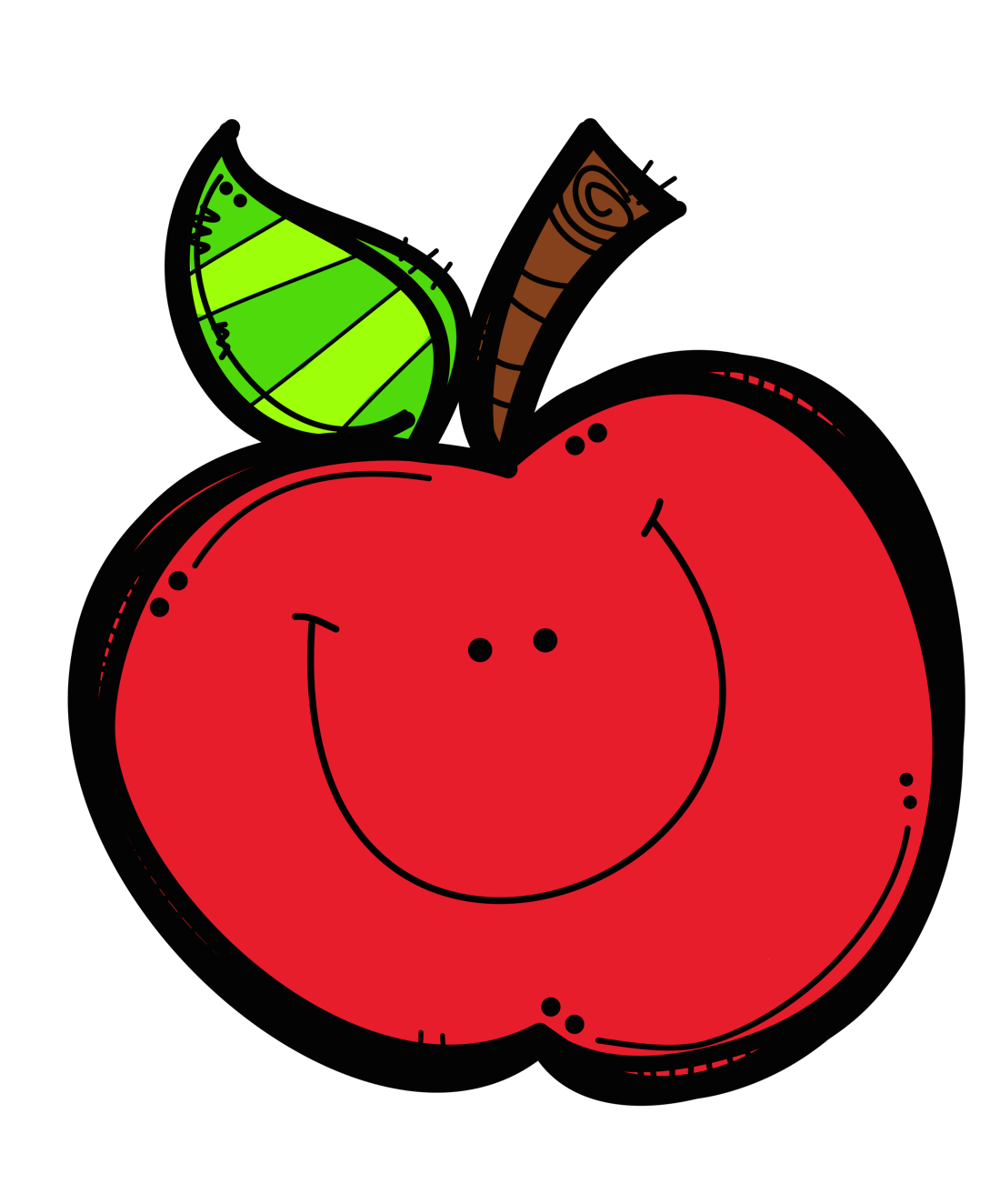 clipart Apple for kindergarten clipart. Vector apples teachers