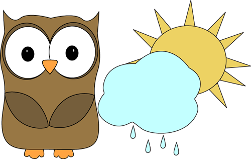 clip art freeuse library Owl classroom helper clip. Weather clipart happy birthday