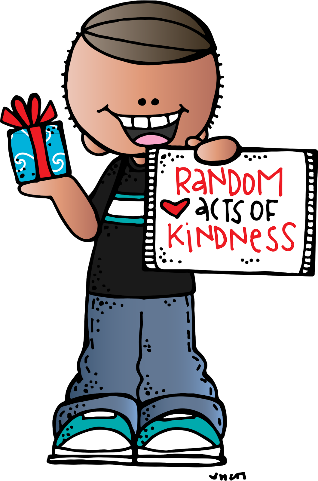 picture black and white Kindness clipart. One little tiny act.