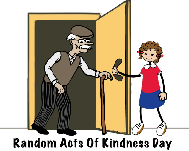 vector freeuse library Acts of kindness clipart. Person opening door frames