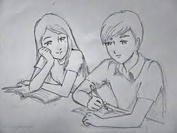 graphic stock Pin on Drawings of Couples