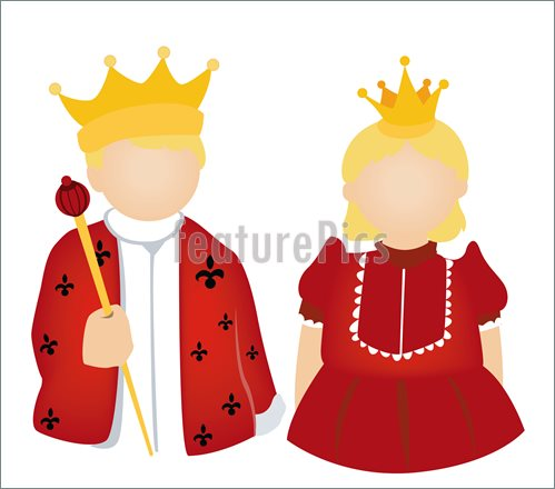clipart royalty free stock King and queen clipart. Station