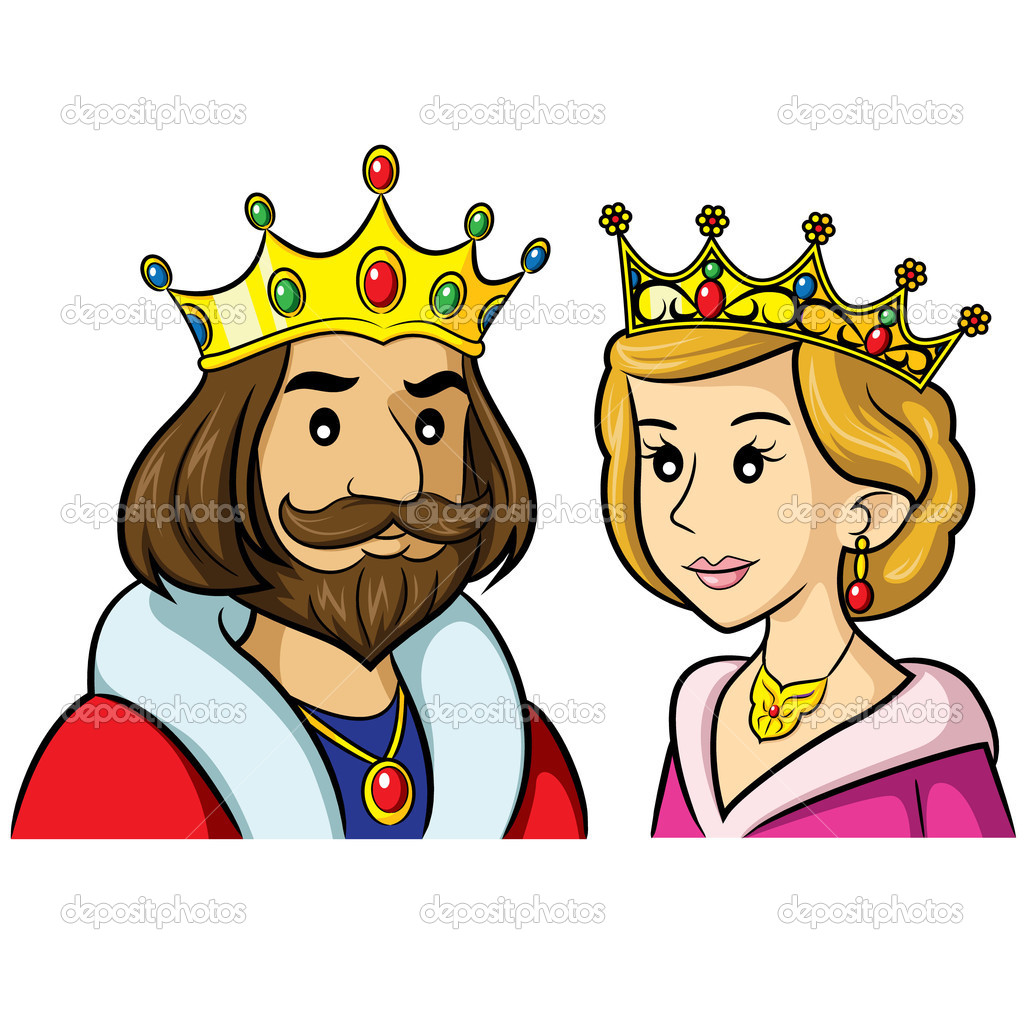 transparent stock King and queen clipart.  clipartlook