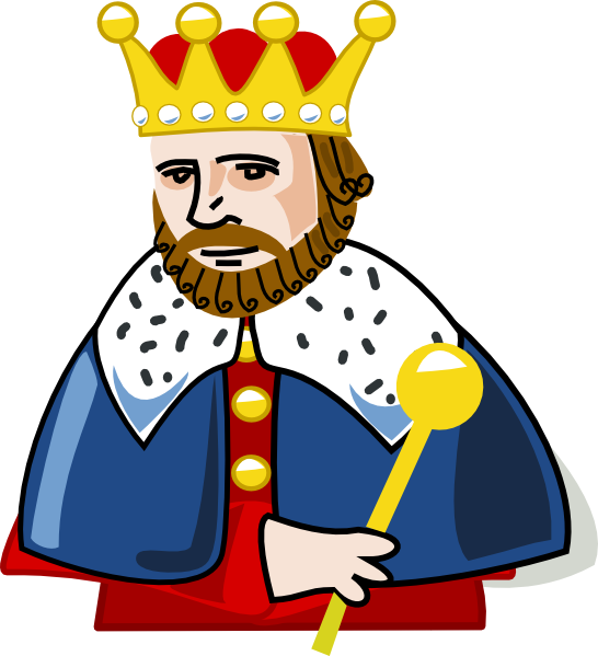 banner royalty free download Letter k we played. King on throne clipart
