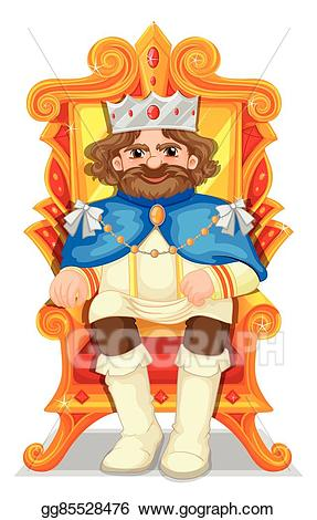 picture transparent stock King on throne clipart. Clip art vector sitting