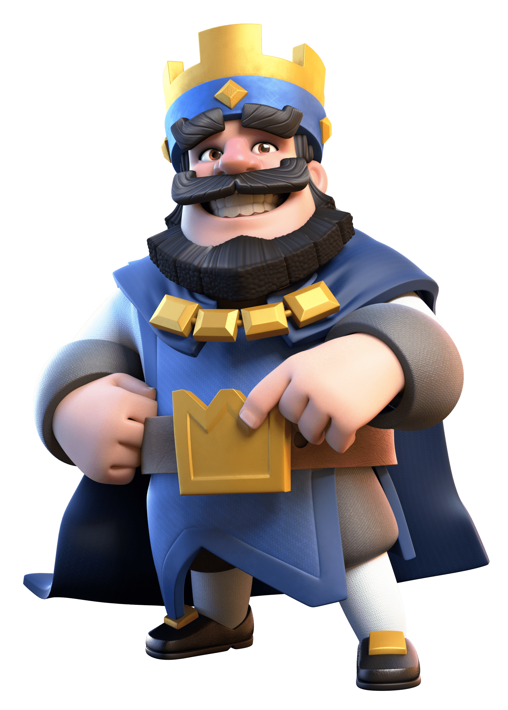 png royalty free stock Clash royale blue png. King transparent