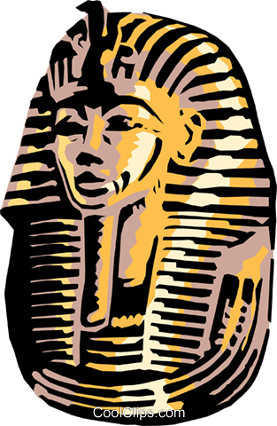 graphic black and white library At getdrawings com free. King tut clipart