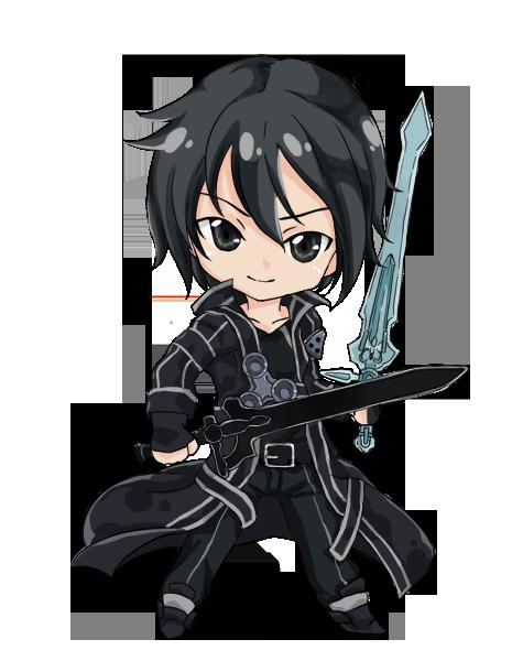 clipart free download Chibi Kirito