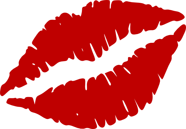 clip art library Red Kiss Mark Clip Art at Clker