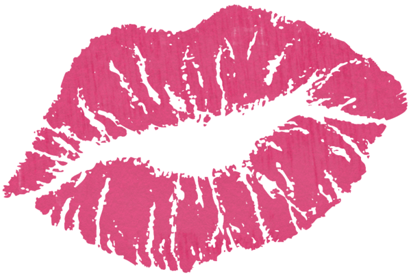 vector transparent library Lip clipart valentines. Pink kiss png lipsence.