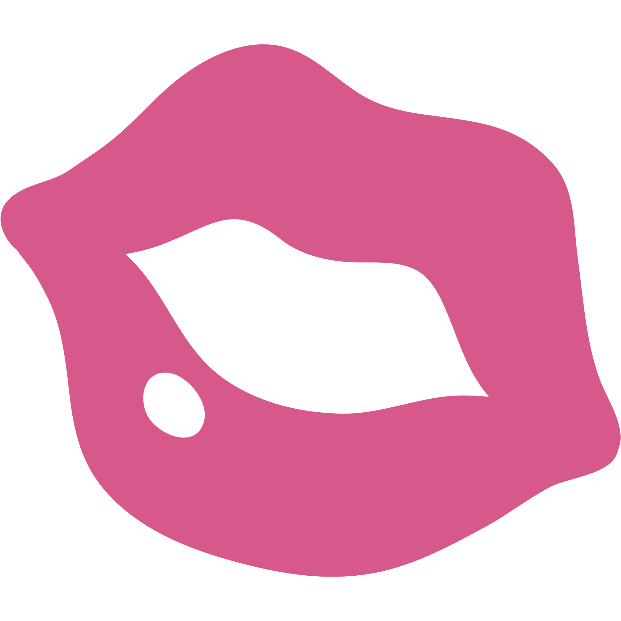 picture Kiss clipart png. Emoticon pink transparent stickpng