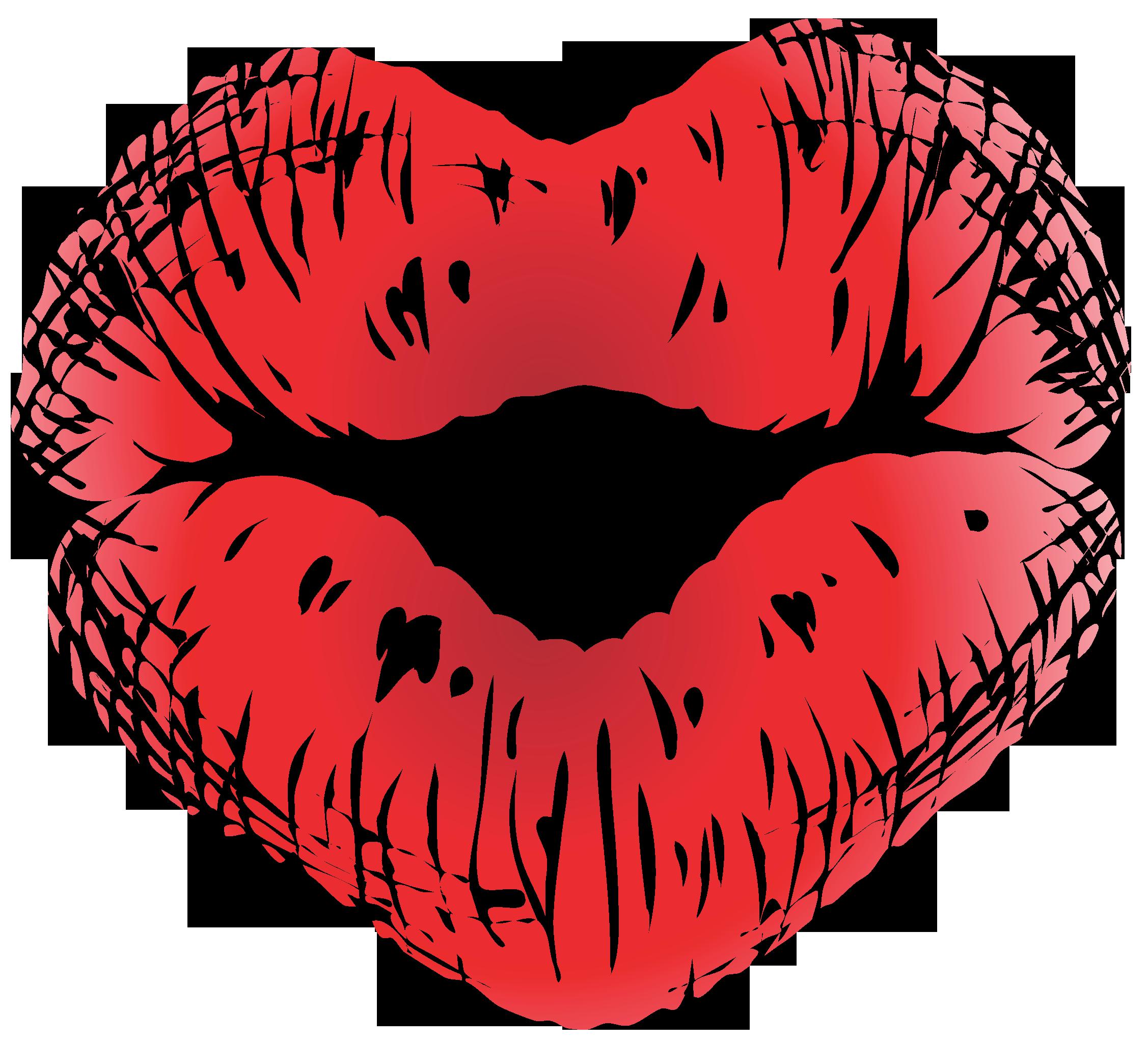 transparent stock Kisses cilpart marvelous design. Lip clipart valentines.