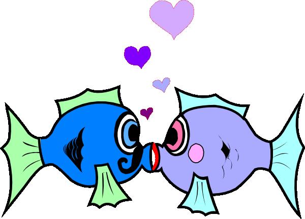 jpg library Kissing fish clip art. Hershey kiss clipart
