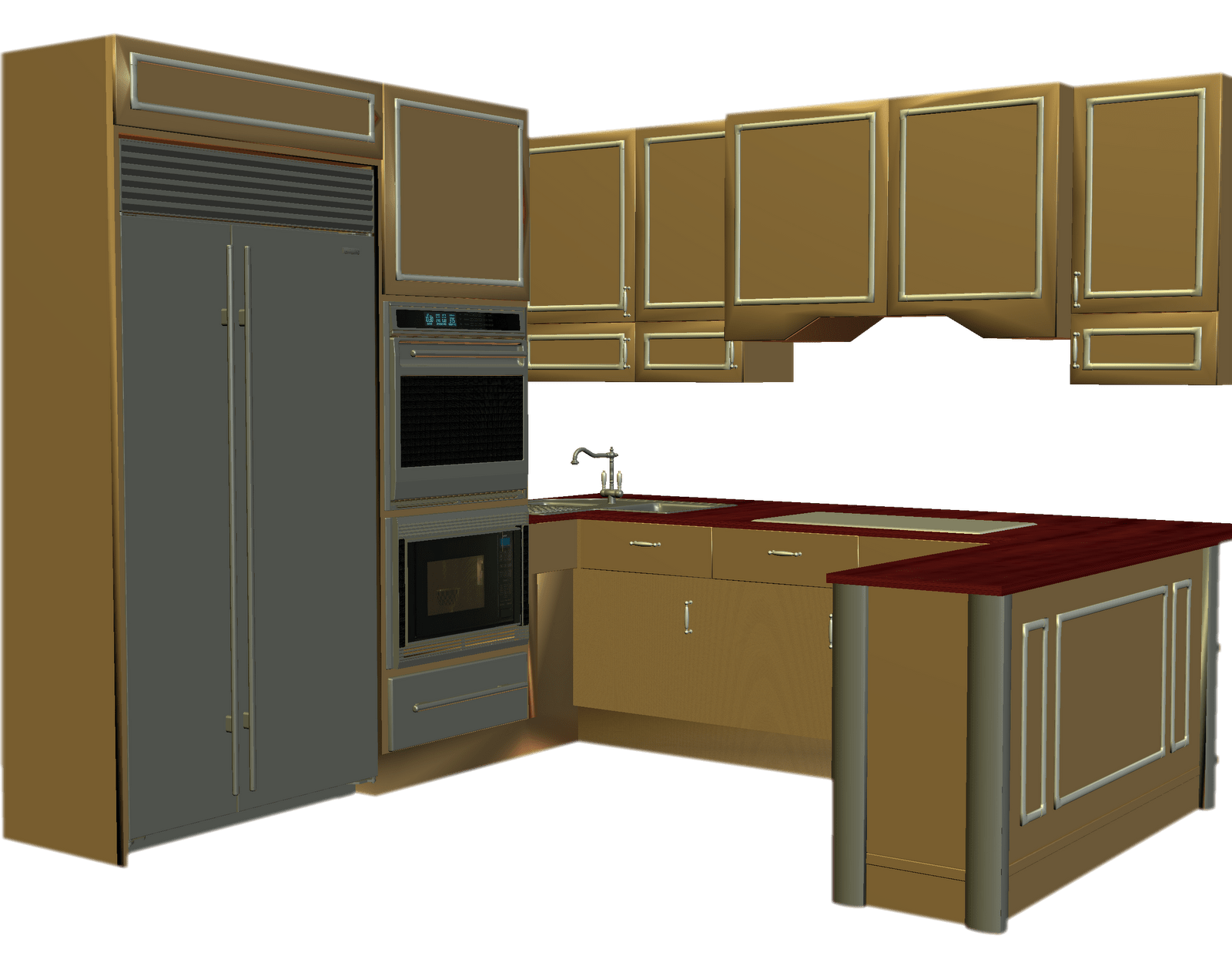 clip freeuse download Counter cabinets animation leeann. Kitchen cabinet clipart