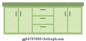 png freeuse stock Clip art royalty free. Kitchen cabinet clipart