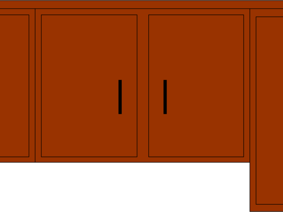vector library download Kitchen cabinet clipart. Wood background transparent clip