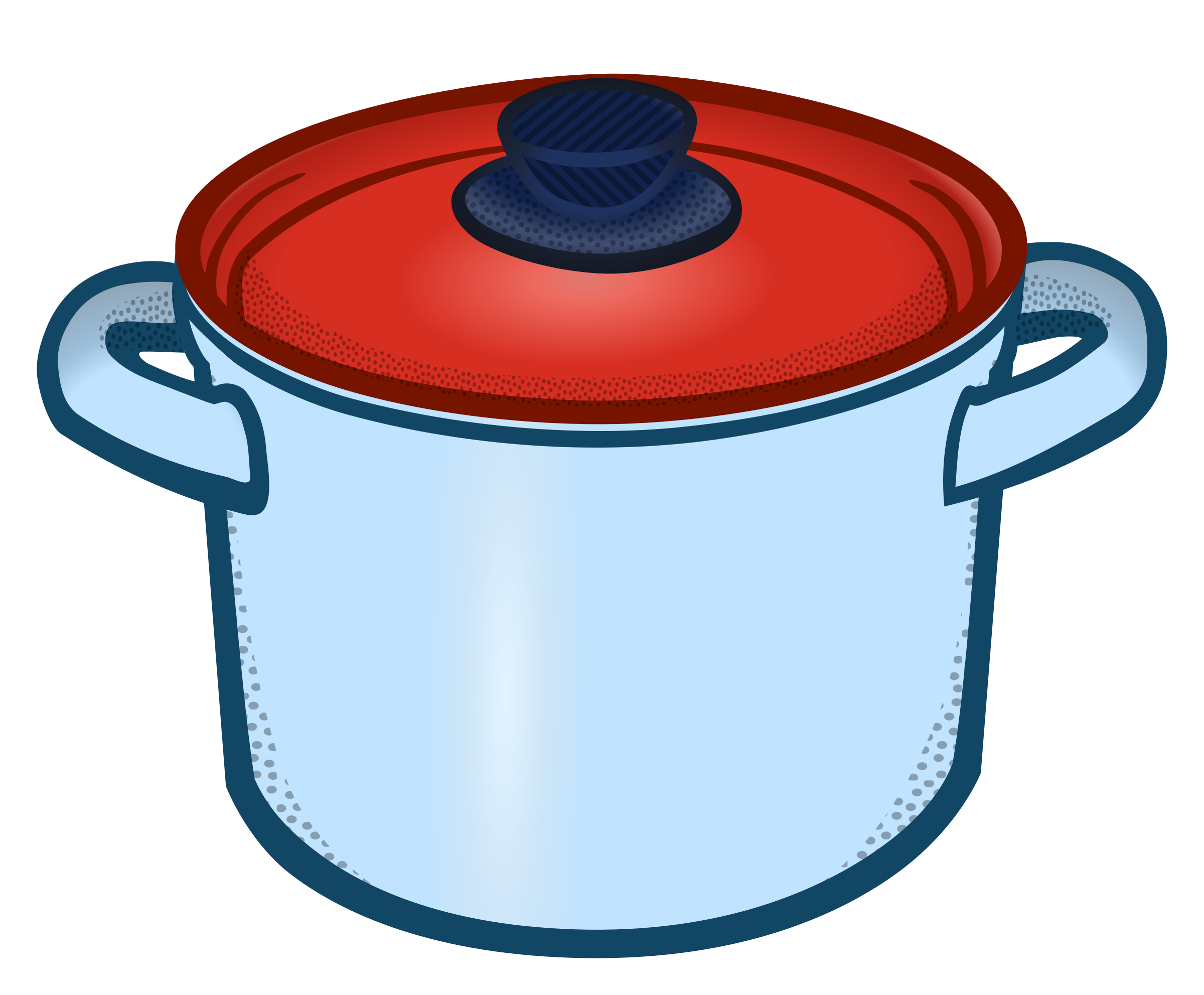 vector free library Cooking Pan Clipart crock pot