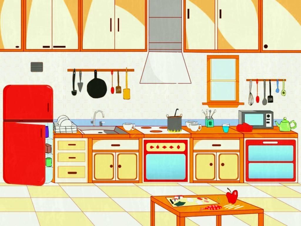 banner freeuse Kitchen clipart.  clipartlook.
