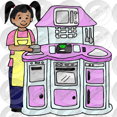 banner library library Picture for classroom therapy. Kitchen play clipart