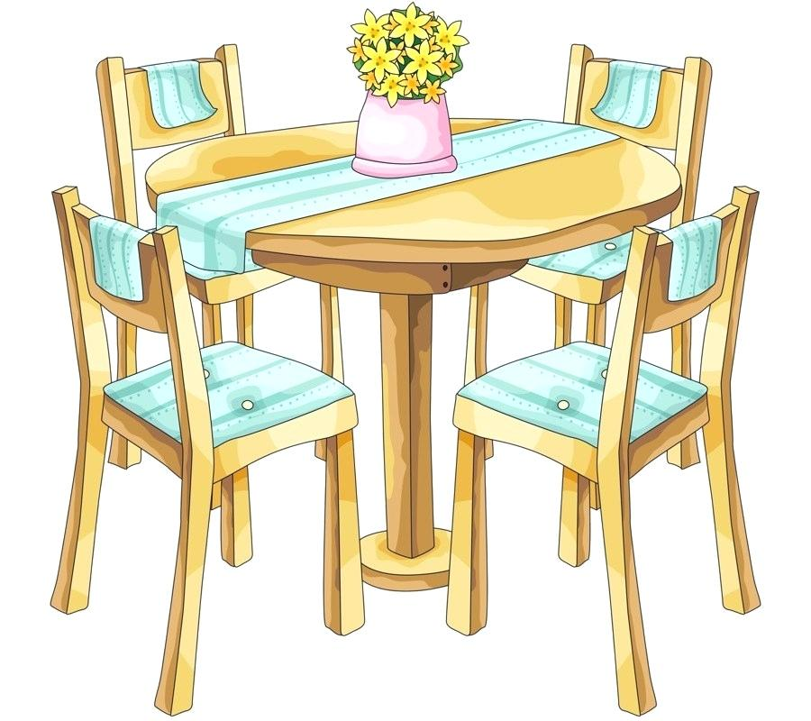 vector library library Clip art youngchoreographersproject org. Kitchen table clipart