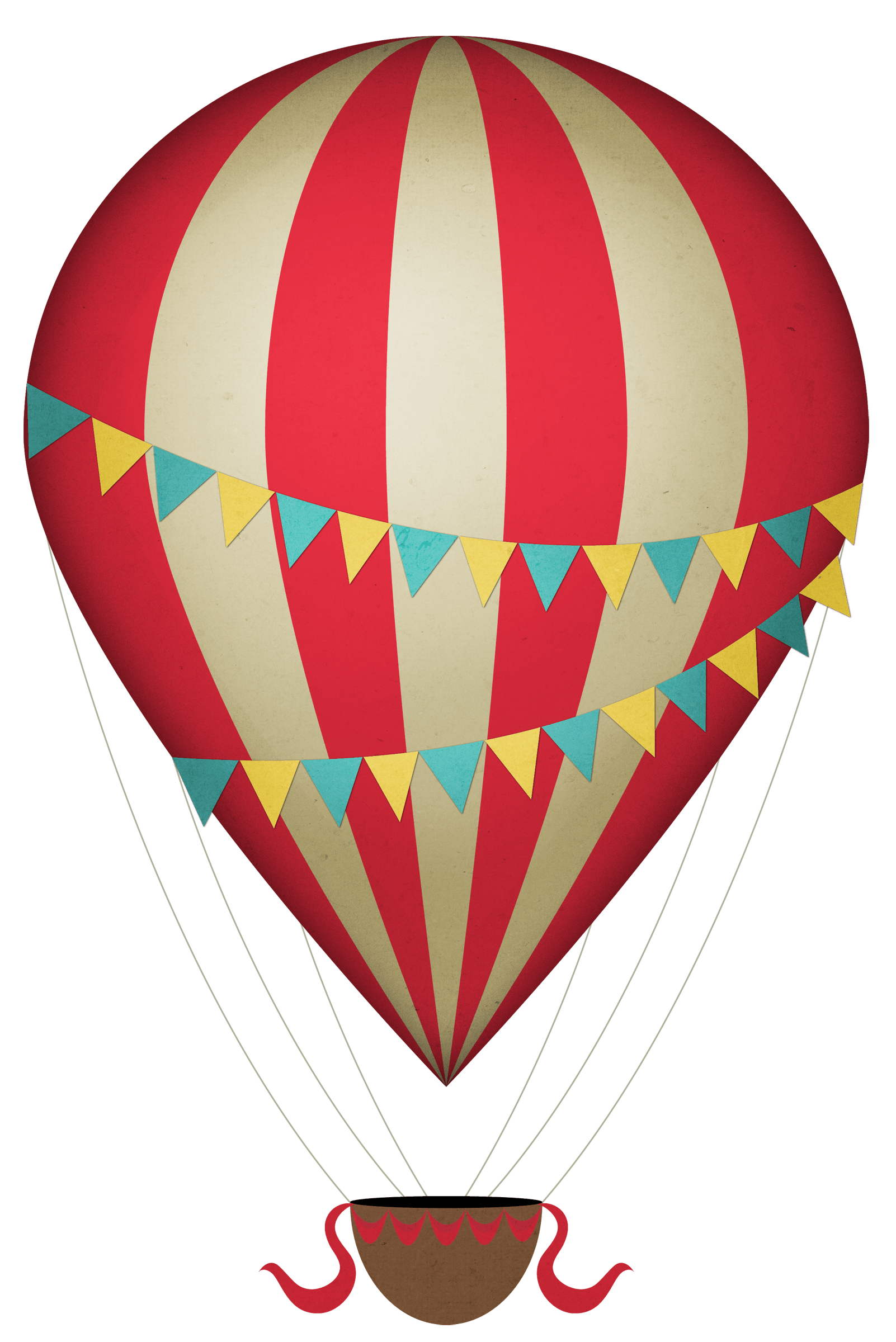 clip art download Vintage Clipart Hot Air Balloon