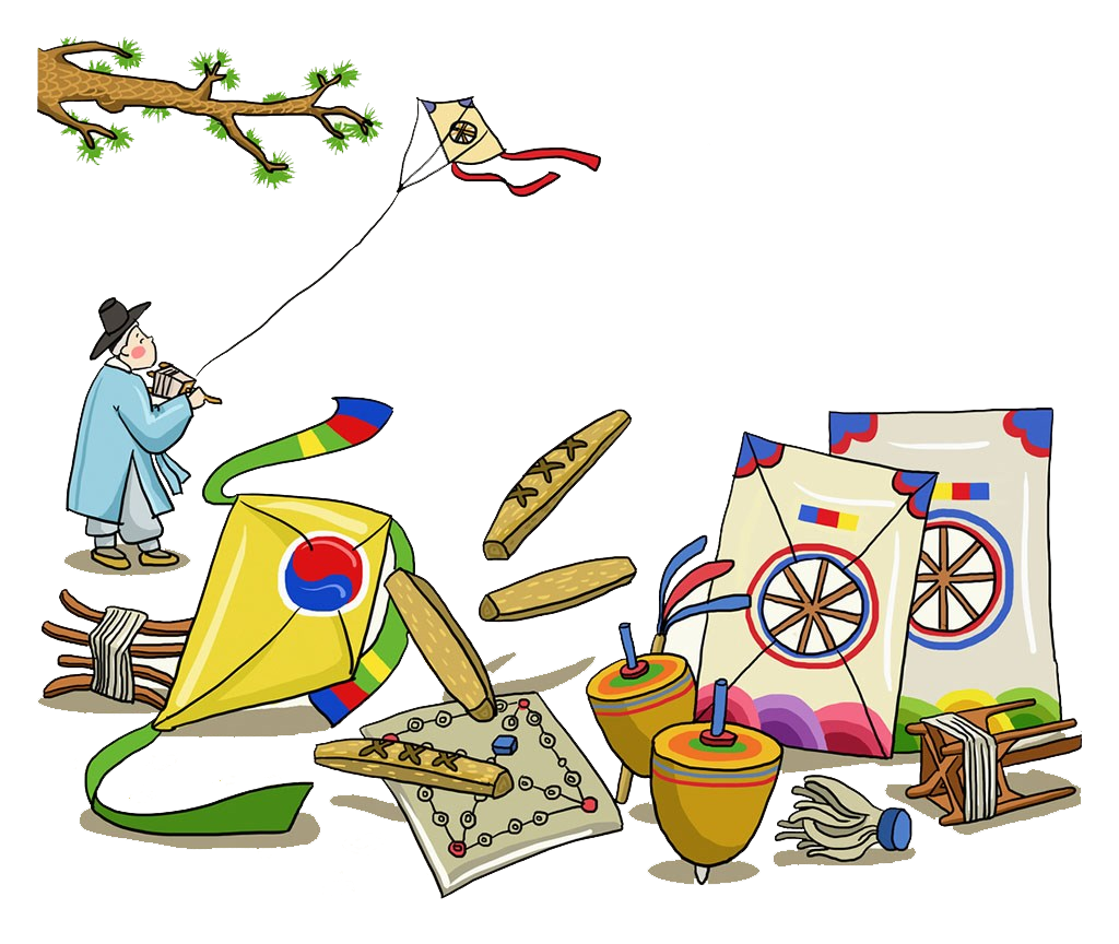 svg library stock Kite flying clipart. Korea tradition clip art.